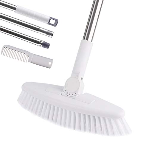 Floor Scrub Brush with Adjustable Long Handle-52