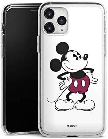 DeinDesign Silikon Hülle kompatibel mit Apple iPhone 11 Pro Max Case Schutzhülle Micky Maus Mickey Mouse Retro Geschenke Merchandise