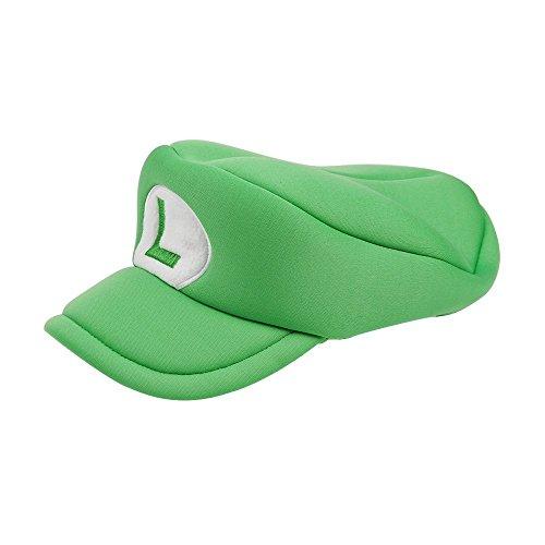 Super Maryo Brothers Cosplay Hats Odyssey Wario Luigii Waluigi Caps for Adult Kids