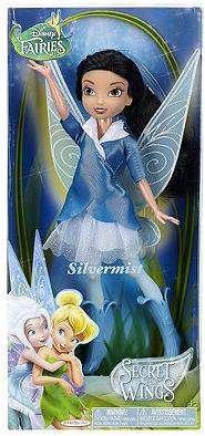 Disney Fairies Secret of The Wings Fashion Doll - Silvermist (Tinkerbell Fashion Doll)