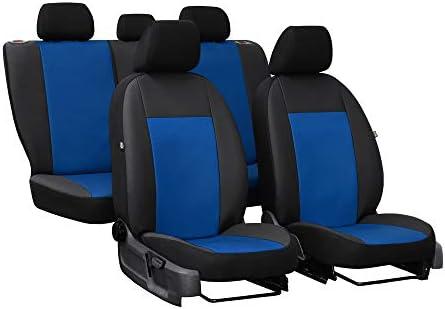 Autositzbezüge Blau Komplettset 5-Sitze Schonbezüge Sitzbezug Sitzschutz Schoner
