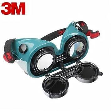 Protección de seguridad gafas gafas de estaño cobre 3m 10197 anti-impacto soldador trabajo de soldadura: Amazon.es: Electrónica