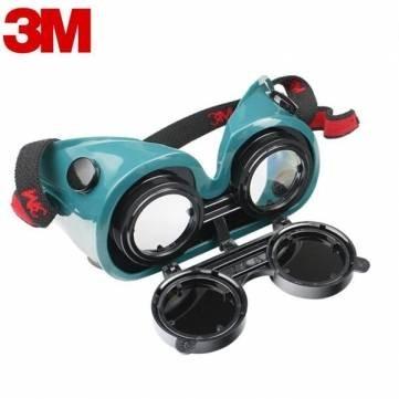 Protección de seguridad gafas gafas de estaño cobre 3m 10197 anti-impacto soldador trabajo de