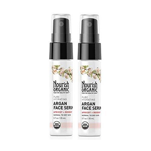 Nourish Organic Pure Hydrating Organic Argan Facial Serum wi
