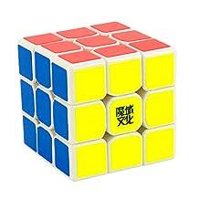 PeleusTech® MoYu TangLong 3x3x3 Speed Cube Magic Cube - White