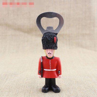 Armed guardsmen fridge magnet bottle opener corkscrew Opera