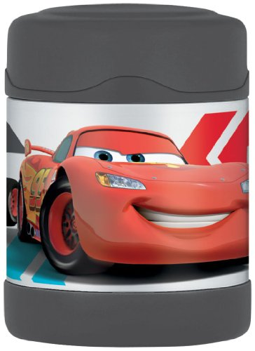 Food Thomas - Thermos Funtainer Food Jar, Disney Cars, 10 Ounce
