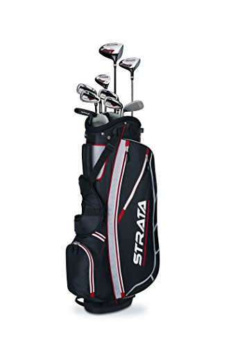 Callaway Men's Strata Complete Golf Set (12-Piece, Left Hand) (Left Set Clubs Hand Iron)