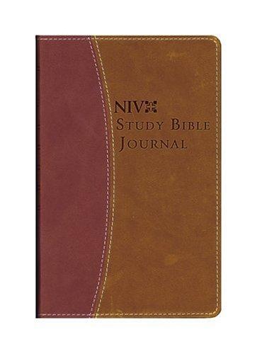 NIV Study Bible Journal: from the NIV Study Bible