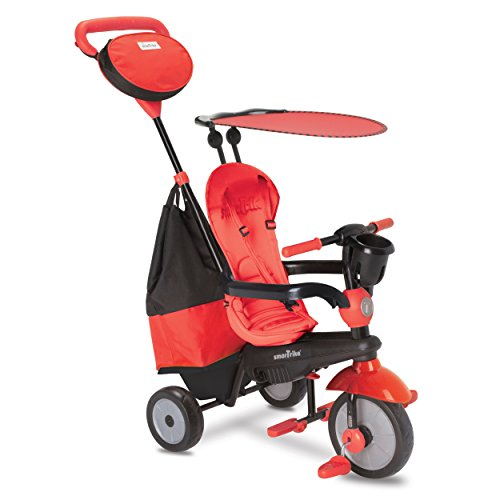 smarTrike 4-in-1 Cruise Tricycle, Red (Smart Trike)