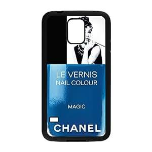 Audrey Hepburn Nail Polish Bottles Design Custom Hard cover Case Printed SamSung Galaxy S5 Case ,Audrey Hepburn Classic style 1