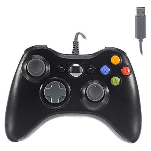 Xbox 360 Controller,USB Wired Controller Gamepad for Microsoft Xbox 360,PC Windowns,XP,Vista,Win7