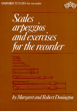 Scales, Arpeggios, and Exercises for the Recorder (Sopranino, Descant, Treble, Tenor, and Bass) ()