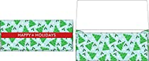 Holiday Gift/Currency Envelopes (2 7/8 x 6 1/2) - Christmas Trees (50 Qty.)