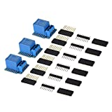 BEESCLOVER 3pcs Development Board 5V WiFi Mini Relay Shield Development Board Arduino WeMos D1 TE685