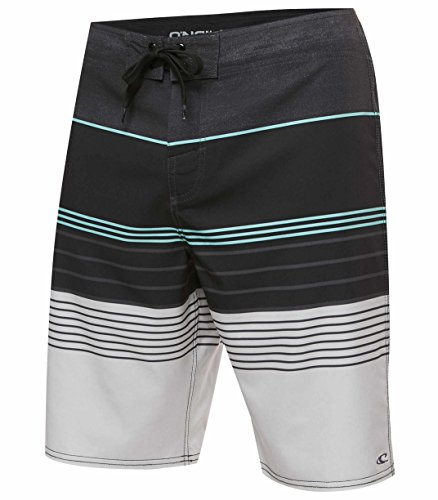 O'Neill Men's Catalina Brisbane Boardshort (Suede Embroidered Boardshorts)