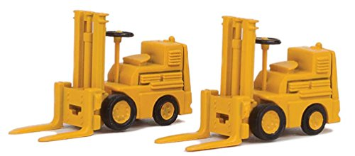 - Walthers SceneMaster HO Scale Forklifts/Warehouse Vehicles (2-Pack) Yellow