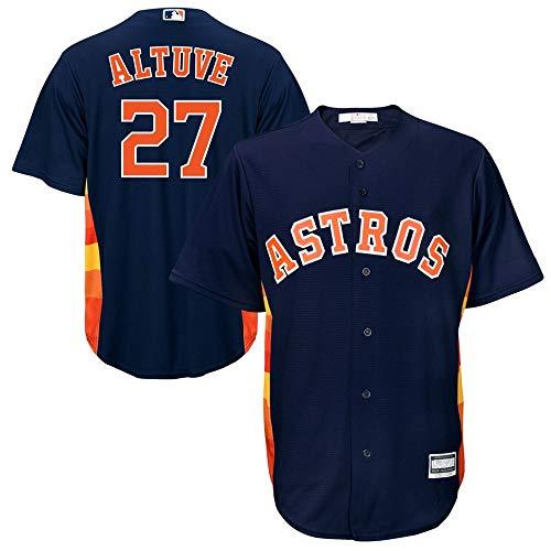 VF LSG Jose Altuve Houston Astros Cool Base Player Jersey #27- Navy M