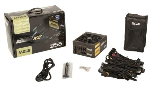 PC Power & Cooling ZX Series 850 Watt (850W) 80+ Gold Fully-Modular Active PFC Performance Grade ATX PC Power Supply 5 Year Warranty OCZ-ZX850W by PC Power & Cooling (Image #2)