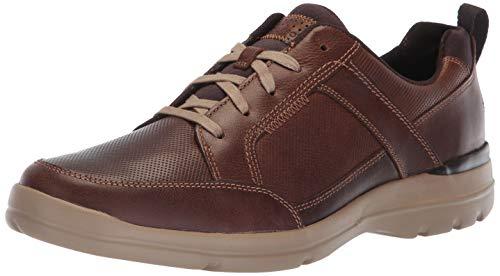 - Rockport Men's City Edge Lace Up Shoe, boston tan leather, 10.5 M US