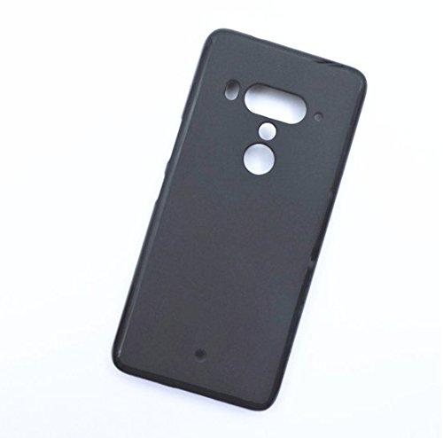 For HTC U12 Plus Matte Silicone TPU Bumper Case - Ultra Thin Soft Silicone Scrub Back Cover Case for HTC U12 Plus HTC U12+ -