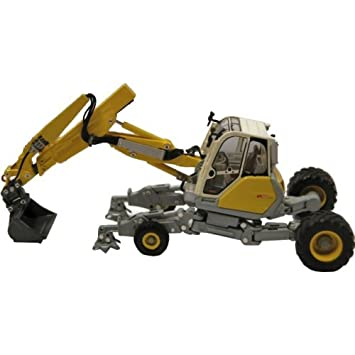 Menzi Muck A91 Excavadora de ruedas - Edición Limitada: Amazon.es: Juguetes y juegos