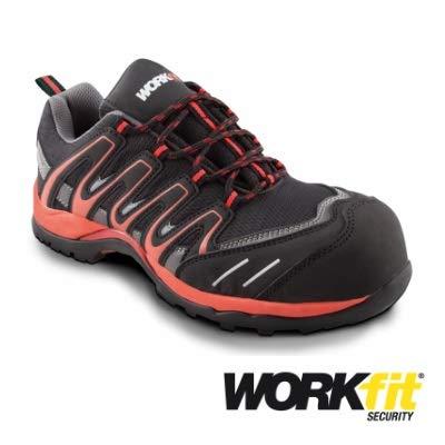 Zapato Seguridad Rojo Talla Trail 44 Workfit wOwSTqAF