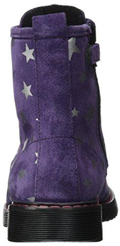 Lepi Mädchen 4613lep Biker Boots Violett (Viola)