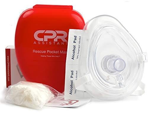 CPR Assistant CPR Mask & Valve Pocket Resuscitator Kit
