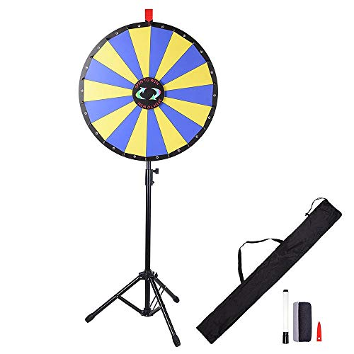 WinSpin Pegs /& Red Pointer Replacement Kit Prize Wheel Replacement Parts for Game Tradeshow Carnival with Nuts