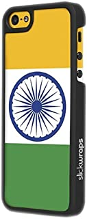 product image for Slickwraps Flag Series the Case for iPhone 5c - India - Carrying Case - Retail Packaging - India