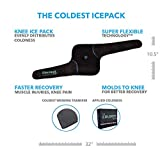 The Coldest Knee Ice Pack Wrap, Hot and Cold