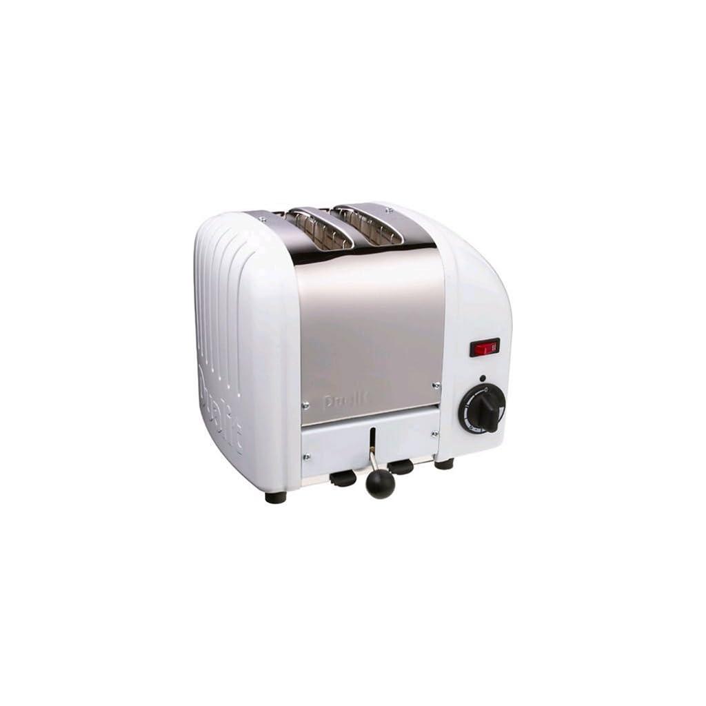 Dualit Classic 2-Slot Toaster - White