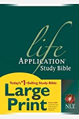 NLT Life Application Study Bible, Second Edition, Large Print (Red Letter, Hardcover) Hardcover