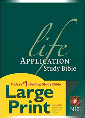 NLT Life Application Study Bible, Second Edition, Large