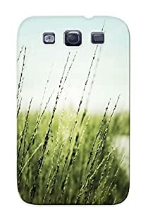 Galaxy S3 UuWYKaI1233Xbuyn Closeup Nature Fields Roads Tpu Silicone Gel Case Cover. Fits Galaxy S3