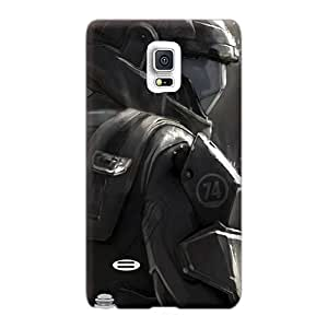 Samsung Galaxy Note 4 Jvy18655byUv Provide Private Custom HD Halo Odst Series Protector Cell-phone Hard Cover -KimberleyBoyes