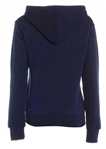 Sweatshirt capuche dames GG Zip Toison Lona V Femmes plaine qwXYA