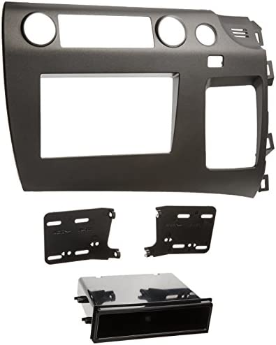 Metra 99-7871T Single DIN//Double DIN Installation Kit for 2006-UP Honda Civic Vehicles Taupe