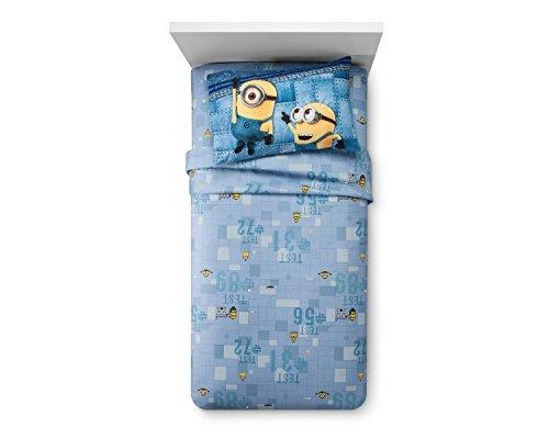 (Despicable Me 3 Minions Blue Sheet Set (Twin))