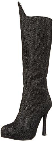 Ellie Shoes Women's 420 Villain Combat Boot, Black, 10 M US