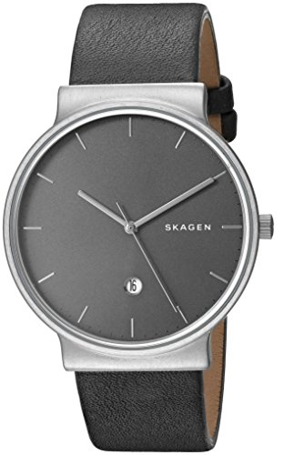 Skagen Men's SKW6320 Ancher Titanium Analog Quartz, Grey
