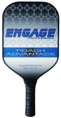 Engage Poach Advantage Pickleball Paddle (Blue/White 7.9-8.1 oz) by Engage Pickleball (Image #1)