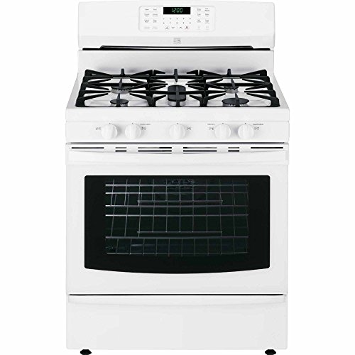 Kenmore 74332 5.6 cu. ft. Self Clean Gas Range in White, includes delivery and hookup (Available in select cities (Self Clean Convection Gas Range)