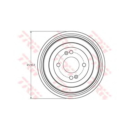 TRW DB4422 Brake Drums: