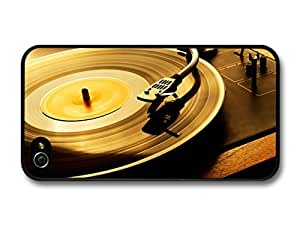 iphone covers Retro Vinyl Record Player for Cool Hipsters case for Iphone 5 5s
