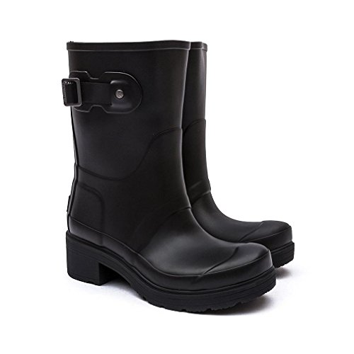 Stivaletto Da Donna Originale Hunter Wunter Nero