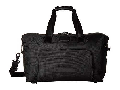 (TUMI - Alpha 3 Double Expansion Travel Satchel - Duffle Bag for Men and Women - Black)