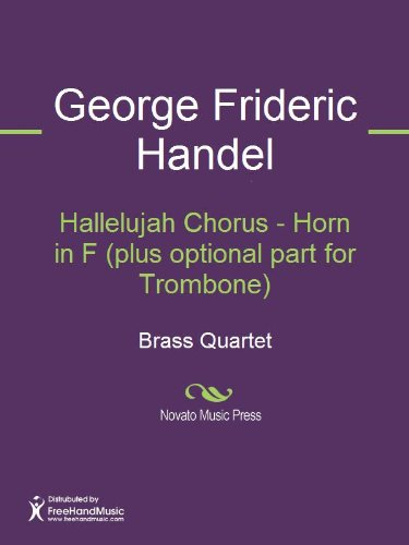 Hallelujah Chorus - Horn in F (plus optional part for Trombone) Sheet ()