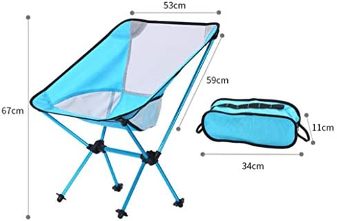mkkwp Outdoor Camping Folding Chair Oxford Cloth Fishing Chair Ultra Light Portable Leisure Beach Chair